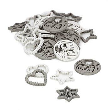 Confettis de table 'Noël', 2 - 3 cm, 24 pièces
