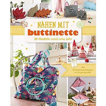 Buch 'Nähen mit buttinette – 28 Modelle rund ums Jahr'