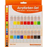buttinette Acrylfarben-Set, 18x 12 ml