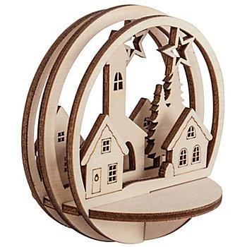 Kit créatif boule 'église', 2 pièces