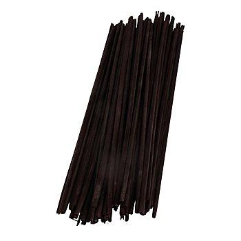 Brins de paille, noir, 22 cm, 100 pièces