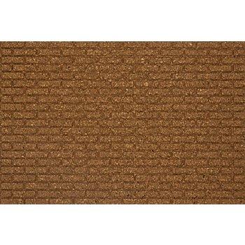 Korkmatte 'Mauer', 30 x 19,5 cm