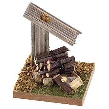 Lagerfeuer mit Vordach, 9 cm
