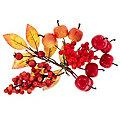 Deko-Herbstfrüchte, 13 Stück
