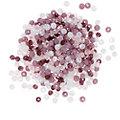 Perles en verre à facettes, tons fruits des bois, 4 mm, 300 pièces