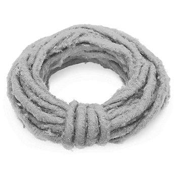 Wolldraht, grau, 5 mm Ø, 5 m