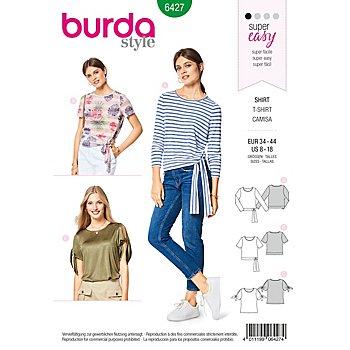 burda Schnitt 6427 'Knoten-Shirt'