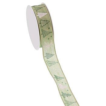 Band 'Tanne', lindgrün, 25 mm, 5 m