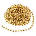 Chaîne de perles, or, 10 m