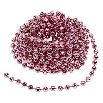 Chaîne de perles, rose, 10 m