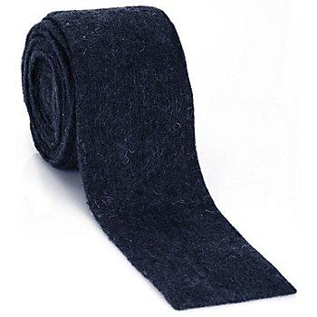 Ruban en laine 'étroit', bleu foncé, 7,5 cm, 3 m
