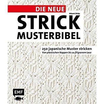 Buch 'Die neue Strickmusterbibel – 250 japanische Muster stricken'