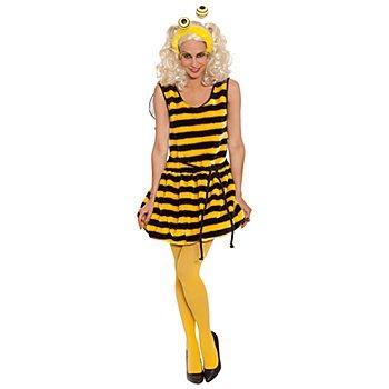 Robe 'abeille' pour femmes, jaune/noir