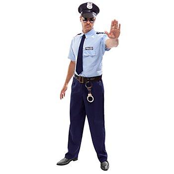 Polizist-Kostüm 'Mike' für Herren