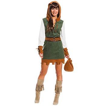 buttinette Kostüm Heldin der Wälder