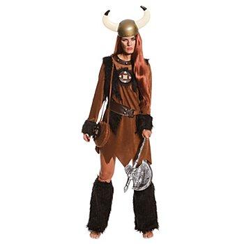 Wikinger Kostüm für Damen