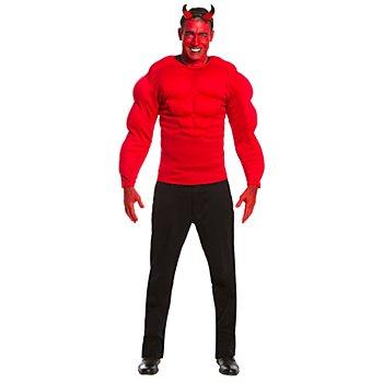 Muskelshirt 'Teufel' für Herren