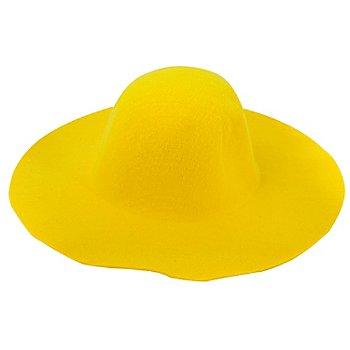 Schlapphut, gelb