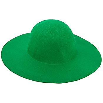 Capeline en feutrine, vert