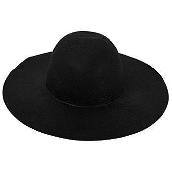 Schlapphut, schwarz