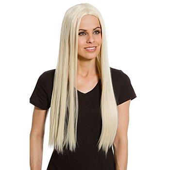 Langhaarperücke, blond