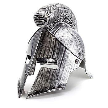 Casque gladiateur, adulte noir/gris