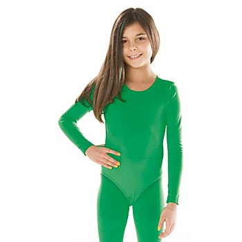 Body à manches longues pour enfants, vert
