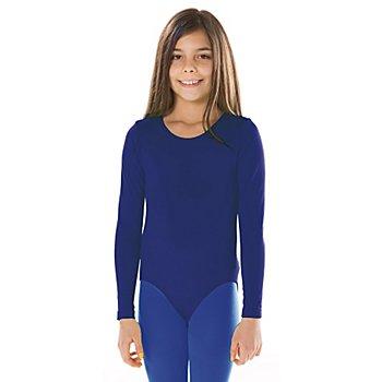 Body à manches longues pour enfants, bleu