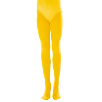Collant opaque enfant, 60 den, jaune