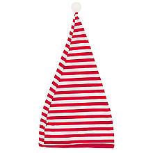 Ringel-Zipfelmütze 'Red Stripes'