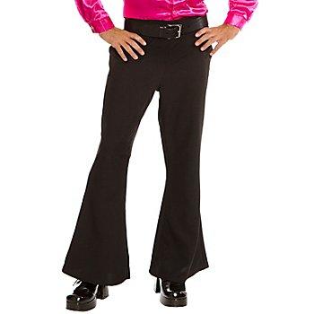 Pantalon patte d'eph, noir