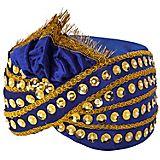 Orientalischer Turban, dunkelblau