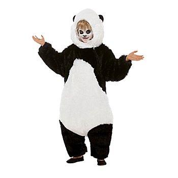 buttinette Déguisement 'panda' pour enfants, noir/blanc