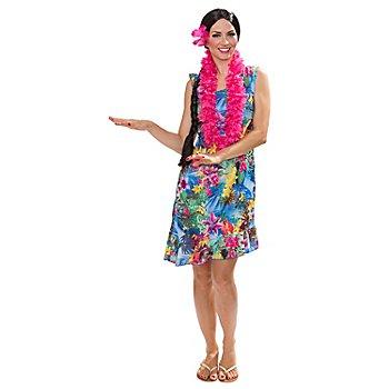 Robe 'Hawaï', multicolore