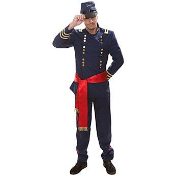 Faschingskostüm Offizier