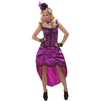 Kostüm Saloongirl 'Violetta', lila