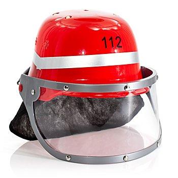 Feuerwehrhelm für Kinder, rot