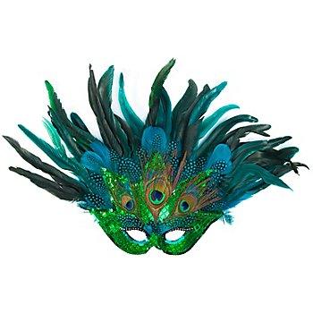 Venezianische Maske 'Pfau'