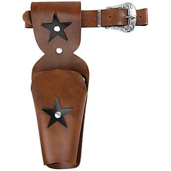 Cowboygürtel, braun/schwarz