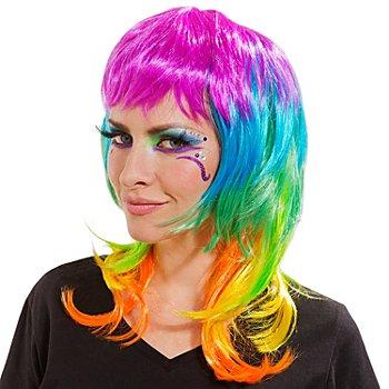 Perücke 'Rainbow'