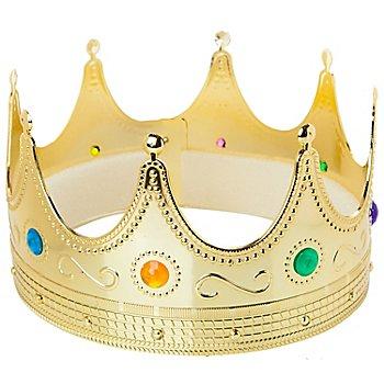 Königskrone für Erwachsene, gold