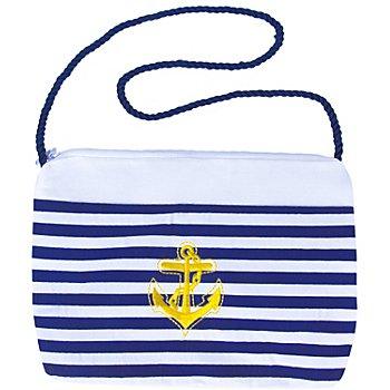 Tasche Matrose, blau/weiss