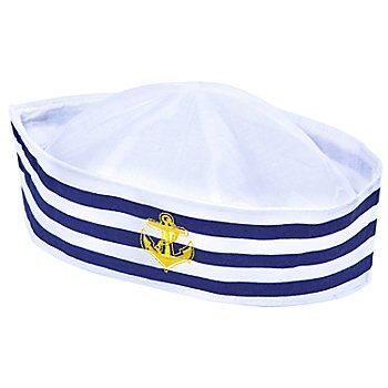 Bonnet de marin, bleu/blanc