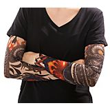 Tattoo Arm Drache, bunt