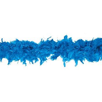 Federboa 90 g, blau
