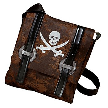 Sac 'pirate', marron