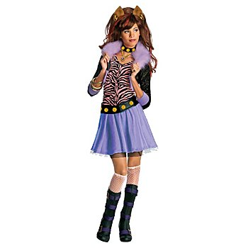 Mattel Clawdeen Wolf Kostüm für Kinder