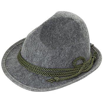 Hut, grau/grün