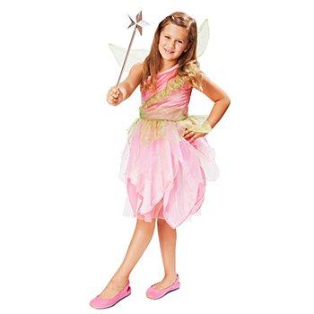 Fee Kostüm für Kinder, rosa/grün