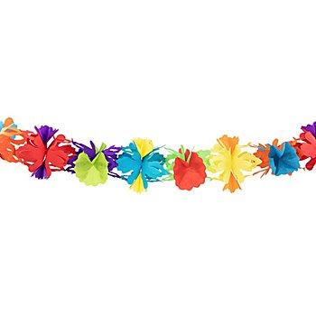 Guirlande en papier 'fun', multicolore